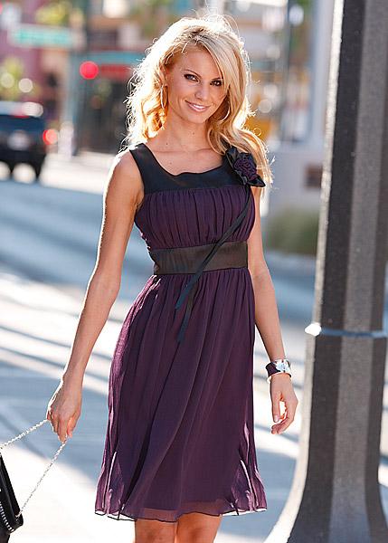 длинные шифоновые платья 3