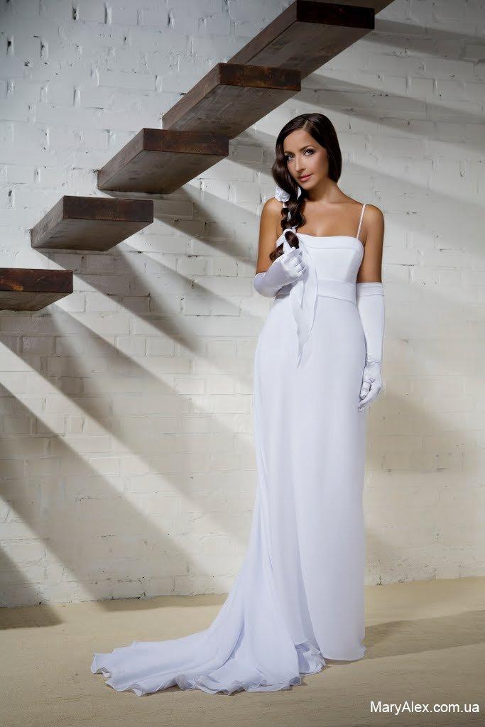 Короткие платья / Интересное / Описание Свадебное платье в