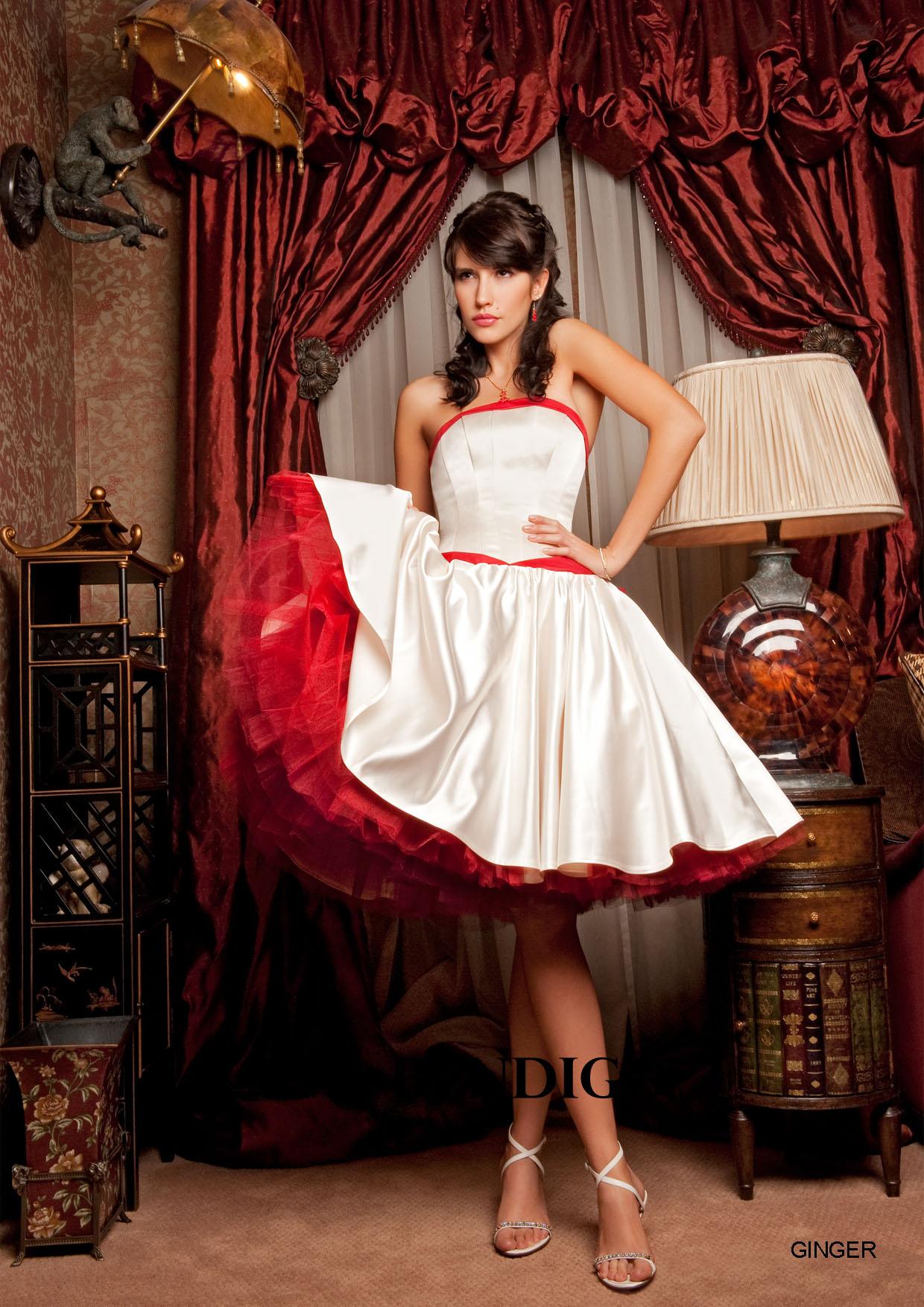 Короткие платья / Интересное / Восхитительные свадебные платья от