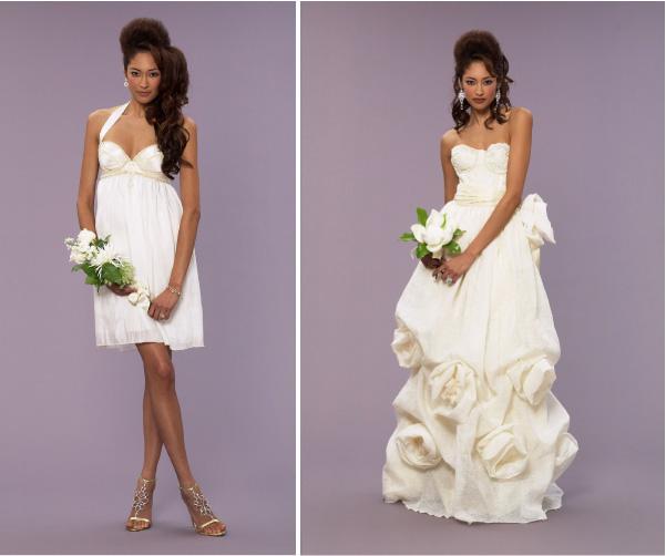 Модные черные свадебные платья от Vera